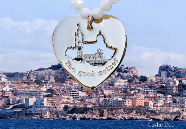"""Amoureuse de ma ville, je lance une collection de bijoux à l'image de Notre Dame de la garde """" The good mother """""""