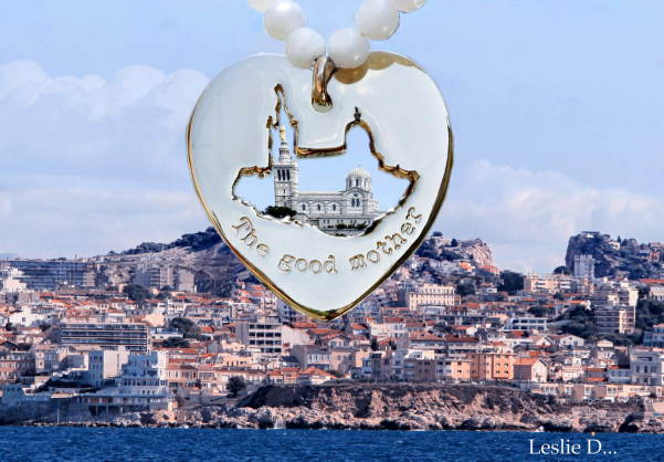 "Amoureuse de ma ville, je lance une collection de bijoux à l'image de Notre Dame de la garde "" The good mother """